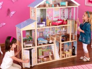 Rumah Barbie Yang Diperbuat Daripada Kayu Lapis Rumah Boneka Diy